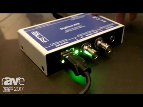 ISE 2017: RME Audio Shows Digiface AVB Technology Preview