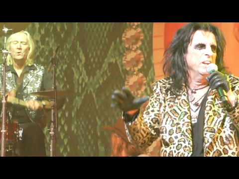 Alice Cooper Band Reunited - I'm Eighteen & Billion Dollar Babies  May 14 2017 Nashville