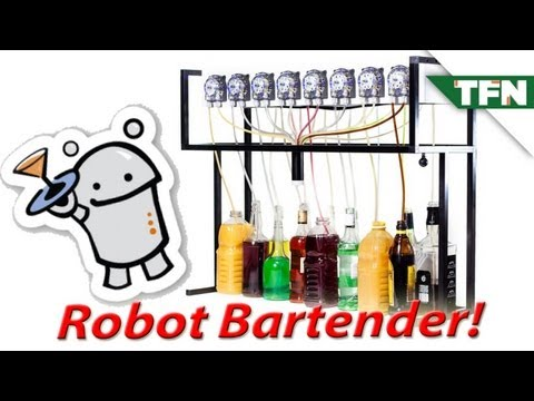 Robot Bartenders at Maker Faire