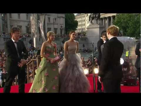 harry Potter And The Deathly Hallows - Part 2  Red Carpet Premiere video
