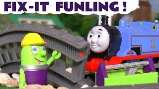 Funny Funlings NEW Fix It Funling helps Thomas The Tank Engine  TT4U