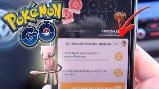 ¡COMPLETANDO INVESTIGACIONES ESPECIALES 5 y 6 en Pokémon GO! MEW está aquí ya!! [Keibron]
