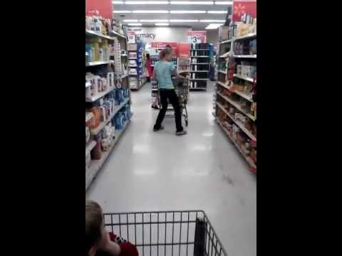 Shocking Worst Tweaker Meth Head Ever At Walmart video