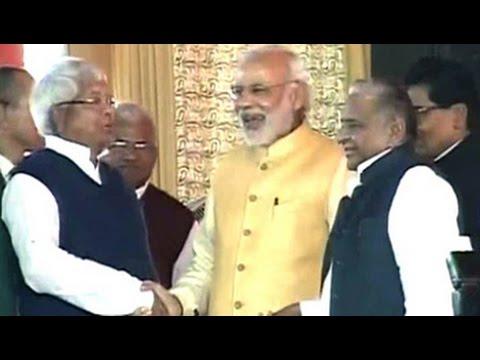 Yadavs' big, fat pre-wedding bash in Saifai, PM Modi attends