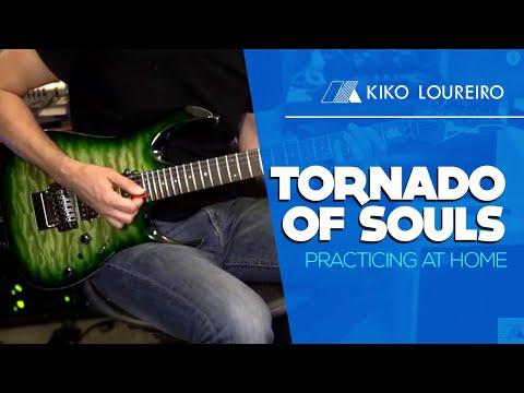 Tornado of Souls - Practicing at home