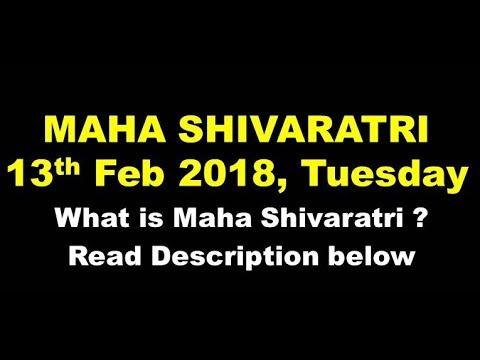 Maha shivaratri 2018   महाशिवरात्रि 2018 ( Read below ...