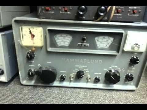 Vintage and new Ham Radio Equipment