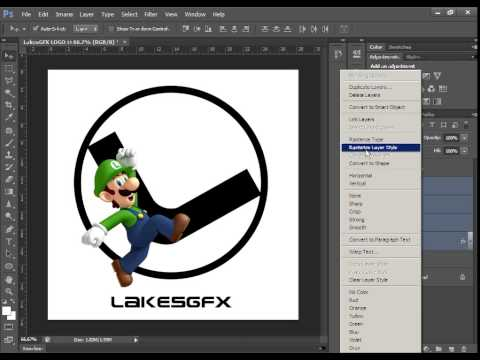 LakesGFX - How I made my logo