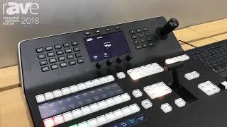 ISE 2018: Blackmagic Design Debuts ATEM 1ME Advance Panel for Control of ATEM Production Switcher