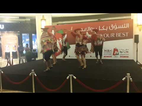 Colombian Show In Dubai Mall