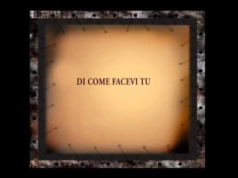 Nessuna è come te Cono Globalix canzone romantica musica indipendente italiana