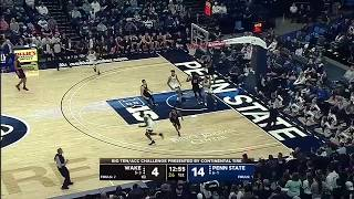 First Half Highlights: Wake Forest at Penn State | B1G Basketball