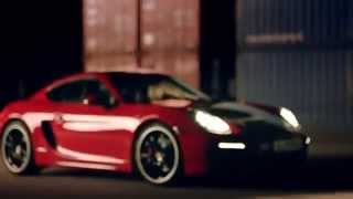 The New Porsche Cayman GTS - In the Night