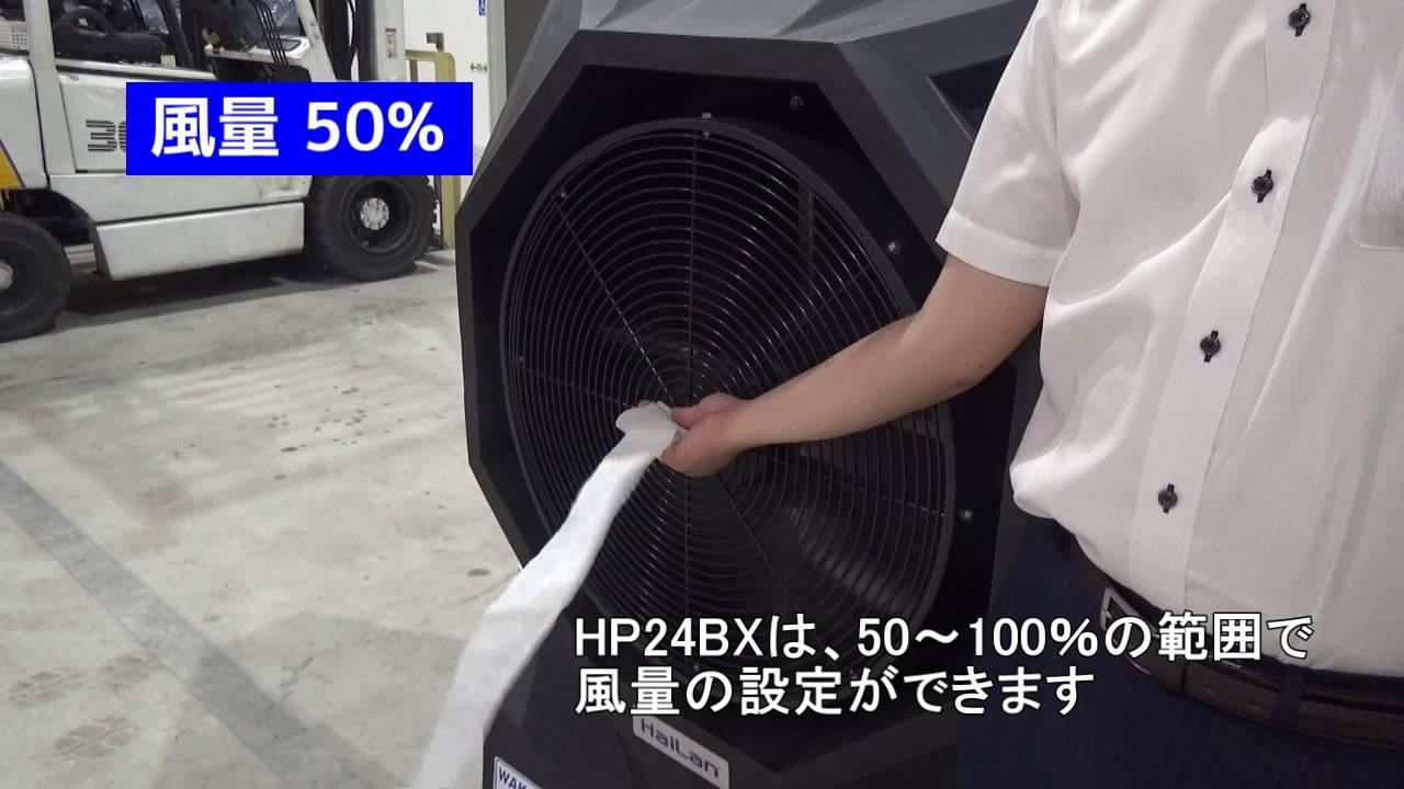 大型気化式冷風機 紹介動画