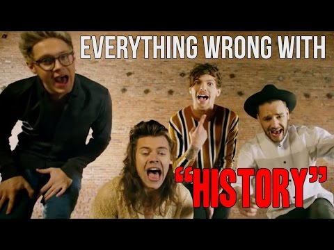 """Everything Wrong With One Direction - """"History"""""""