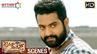 Jr NTR Stylish Fight   NTR Powerful Dialogues   Janatha Garage Telugu Movie Scenes   Mohanlal
