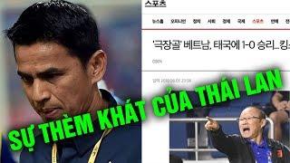 Báo Hàn Sợ Mất Vía Khi Nghe Tin Đụng Độ VN Ở World Cup, Kiatisak Không Dám Về Thái Vì Xấu Hổ