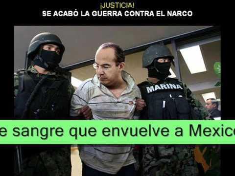 Detienen a Felipe Calderon.