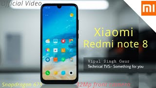 Redmi note 8 - Review, full specifications, launch date, price 🔥🔥🔥 Technical TVS