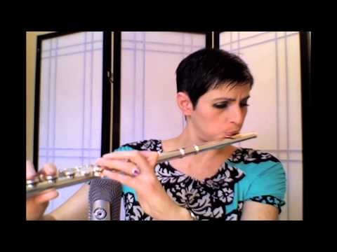 Danny Boy (Traditional Irish Tune) played by Nina Perlove, flute
