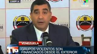 video Venezuelan Interior and Justice Minister Miguel Rodríguez Torres presented a new video in which right-wing student leaders Loren Gómez Saleh and Gabriel Vall...
