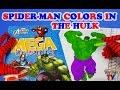 SuperHeroes Spiderman Colors In The Hulk Avengers Coloring Book ToyfunTV mp3