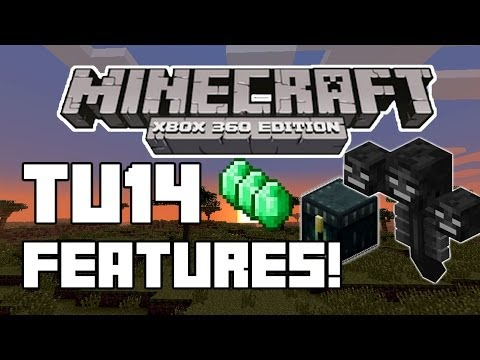 What's In TU14 - Minecraft Xbox 360 Edition! Title Update 14 Discussion / News