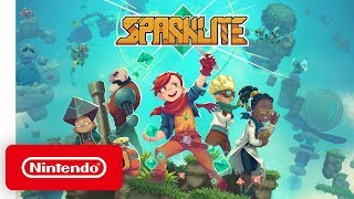 Sparklite - Launch Trailer - Nintendo Switch
