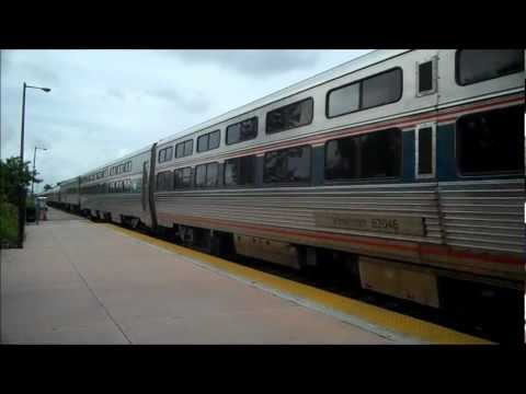 Amtrak's Silver Meteor in Hollywood, FL