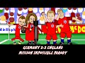 Germany vs England 2-3 MISSION IMPOSSIBLE PARODY (Friendly go...