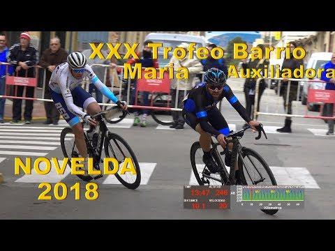 XXX Trofeo Bº Maria Auxiliadora Novelda 18-3-2018 Ciclismo 4k UHD thumbnail