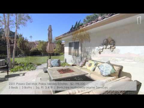 Palos Verdes Real Estate - New Listings week of 2/8/16