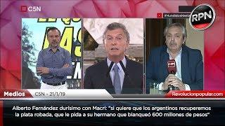 *DURÍSIMO* Alberto Fernández destrozó a Macri por su frase sobre la corrupción