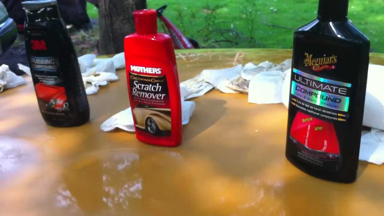 auto polish compound comparison meguiars ultimate vs mothers vs 3m part 2 youtube. Black Bedroom Furniture Sets. Home Design Ideas