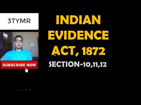 SECTION10, PLEA OF ALIBI=S-11, SECTION-12# EVIDENCE ACT