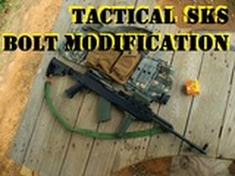 TACTICAL SKS Bolt Modification