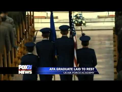 Air Force Academy grad killed in plane crash laid to rest