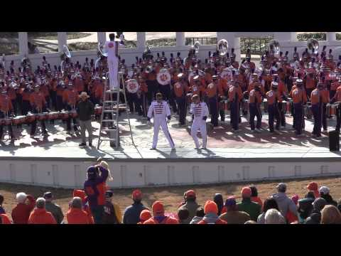 Clemson Tiger Band Crazy in