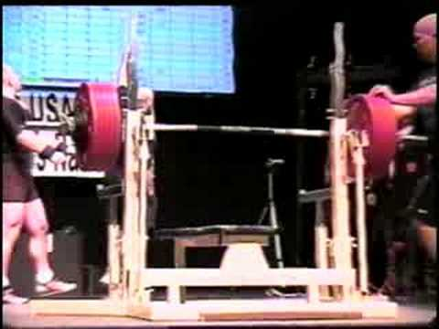 644 lb ipf bench press world record tim anderson youtube