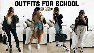 Cute AF Outfits for School - College - Everyday / Fall Edition🍁 -Adorable Caro