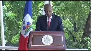 VIDEO: Diskou President Jovenel kote li di li pap demisyone paske li pa nan koripsyon
