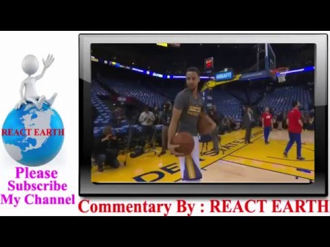 [REACT EARTH- Stephen Curry Invites Young Fan to Try His Preg...] Video