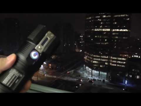 Champ in Darkness - Nitecore TM26 3500 Lumens Flashlight!