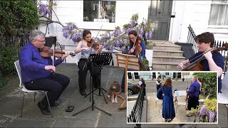 video: Classical music concert put on by family shutdown
