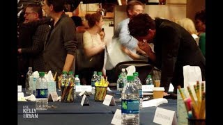 "Johnny Galecki Cried at the Final ""Big Bang Theory"" Table Read"