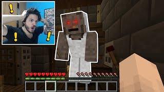 Minecraft: A GRANNY ME PRENDEU NO MINECRAFT!