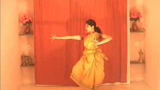 Visharu Adavu in Bharatanatyam (Part one)
