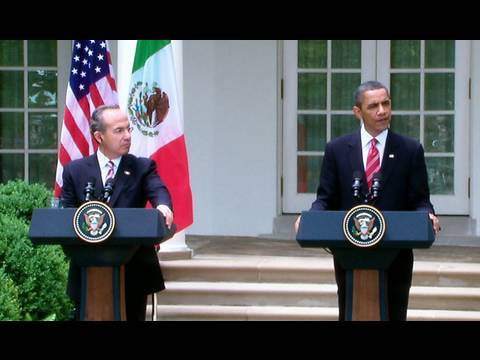President Obama and President Calderón Press Availability
