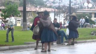 mujeres peleando en cajamarca
