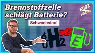 Wasserstoff schlägt Batterie? Schwachsinn!😡 - Kurzschluss